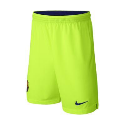 2018/19 FC Barcelona Stadium Away Older Kids' Football Shorts