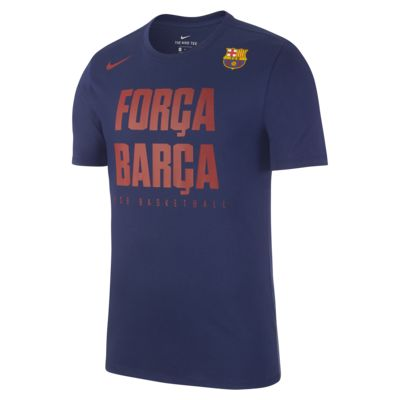 FC Barcelona Dry Men's Basketball T-Shirt