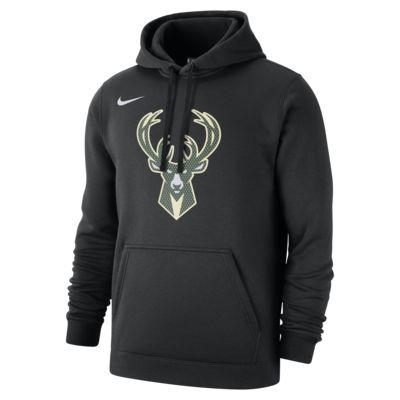 Felpa Milwaukee Bucks con cappuccio Nike NBA - Uomo