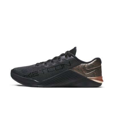 Nike Metcon 5 Black x Rose Gold Damen-Trainingsschuh