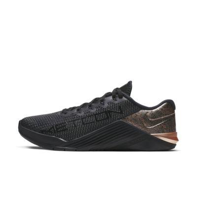 Nike Metcon 5 Black x Rose Gold treningssko til dame