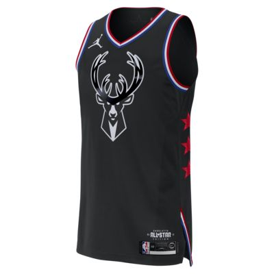 Giannis Antetokounmpo All-Star Edition Authentic Jordan NBA Connected Trikot für Herren