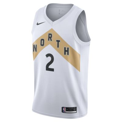 Kawhi Leonard City Edition Swingman (Toronto Raptors) Men's Nike NBA Connected Jersey