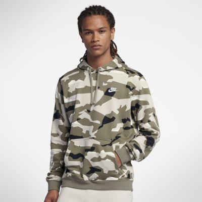 Nike Sportswear Club Men's Pullover Camo Hoodie. Nike.Com by Nike