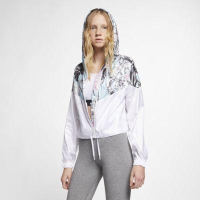 Nike Sportswear Windrunner Women's Cropped Floral Jacket