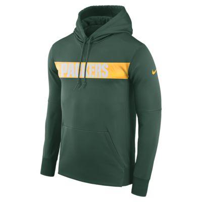 Felpa pullover con cappuccio Nike Dri-FIT Therma (NFL Packers) - Uomo