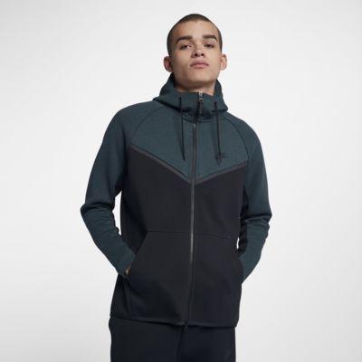 Купить Мужская худи с молнией во всю длину Nike Sportswear Tech Fleece Windrunner
