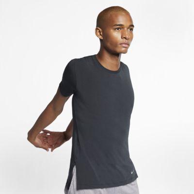 ナイキ Dri-FIT メンズ ショートスリーブ ヨガ トレーニングトップ