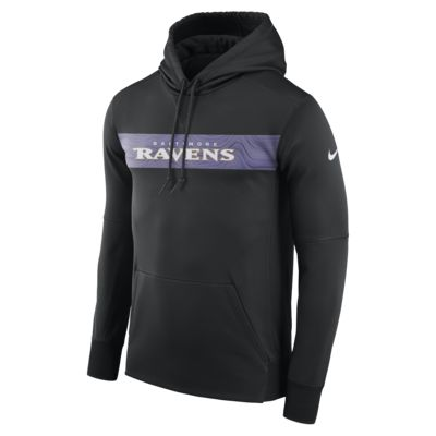 Sweat à capuche Nike Dri-FIT Therma (NFL Ravens) pour Homme