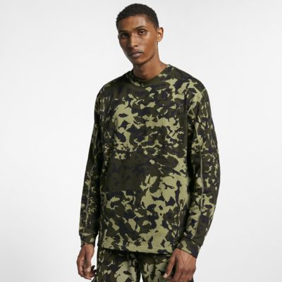 Nike x MMW Men's Printed Long-Sleeve Top