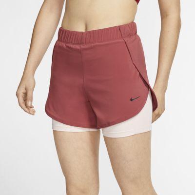 Nike Flex 2-in-1-Trainingsshorts für Damen