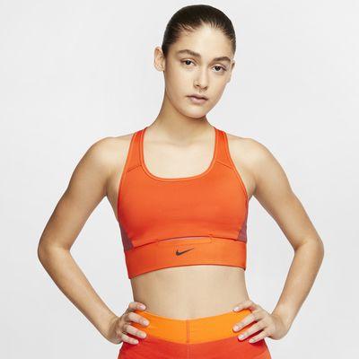Nike Swoosh Sujetador deportivo de sujeción media con bolsillo - Mujer