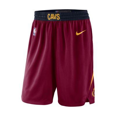 Shorts de la NBA para hombre Cleveland Cavaliers Icon Edition Swingman