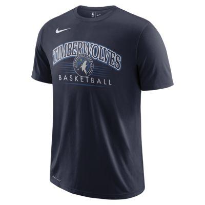 T-shirt NBA Minnesota Timberwolves Nike Dri-FIT para homem