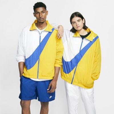 Chamarra Swoosh de tejido Woven para mujer Nike Sportswear
