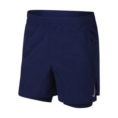 Nike Challenger 男款二合一跑步短褲