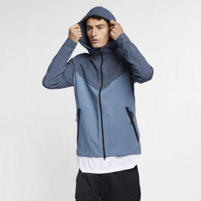 Nike Sportswear Tech Pack hosszú cipzáras, kötött kapucnis férfipulóver