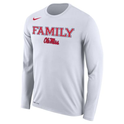 "Nike College Dri-FIT Legend ""Family"" Bench (Mississippi) Men's Training Shirt"