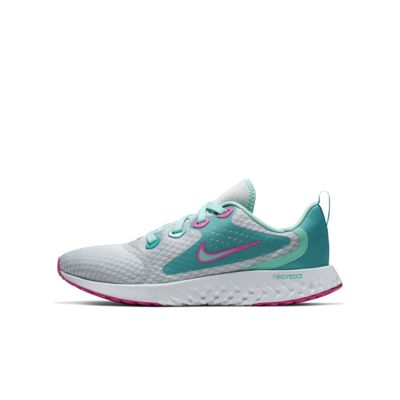 Nike Legend React Aqua løpesko til store barn