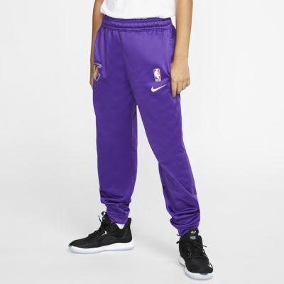 洛杉矶湖人队 Spotlight Nike NBA 大童(男孩)长裤