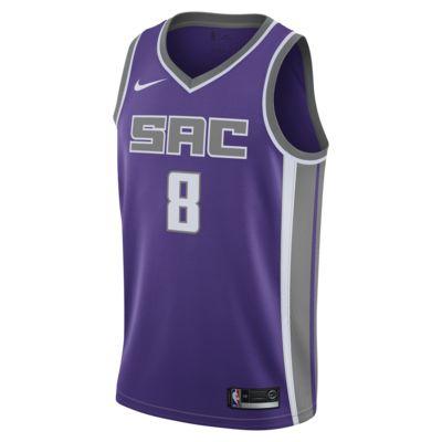 Ανδρική συνδεδεμένη φανέλα Nike NBA Bogdan Bogdanović Icon Edition Swingman (Sacramento Kings)