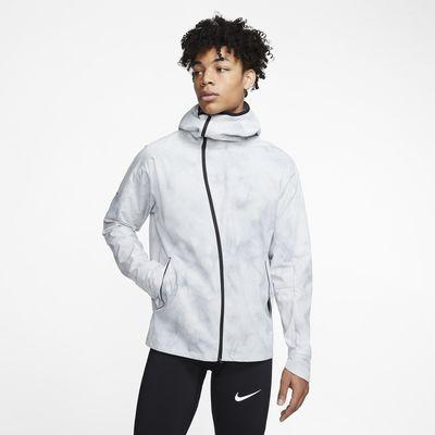 Chamarra de running para hombre Nike Shield Tech Pack