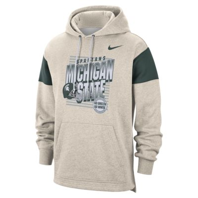Nike College (Michigan State) Men's Pullover Hoodie