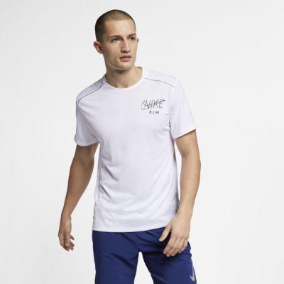 Nike Dri-FIT Miler Men's Short-Sleeve Graphic Running Top