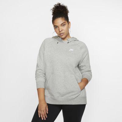 Sweat à capuche en tissu Fleece Nike Sportswear Essential pour Femme (grande taille)