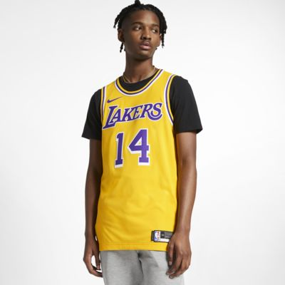 Brandon Ingram Icon Edition Authentic (Los Angeles Lakers) Men's Nike NBA Connected Jersey