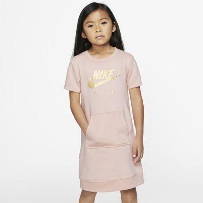 Nike Sportswear Air Younger Kids' Short-Sleeve Fleece Dress