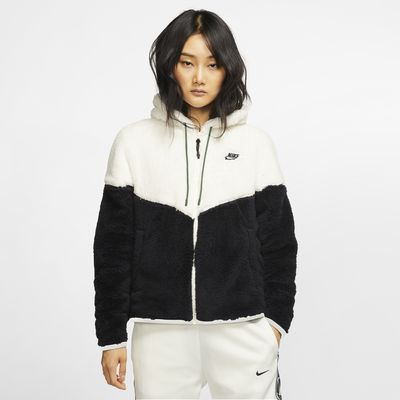 Nike Sportswear Windrunner sherpajakke til dame