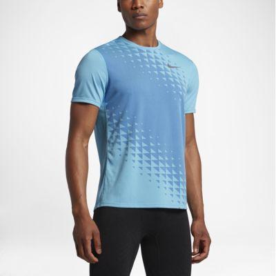 เสื้อวิ่งแขนสั้นผู้ชาย Nike Zonal Cooling Relay Graphic