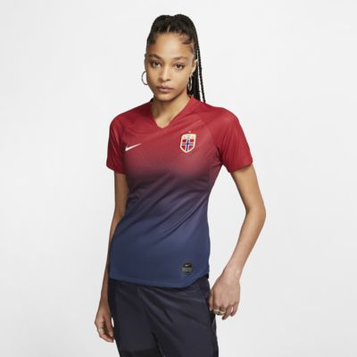 Norwegen 2019 Stadium Home Damen-Fußballtrikot