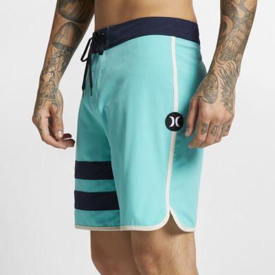 Shorts de playa de 46 cm para hombre Hurley Phantom Block Party Solid
