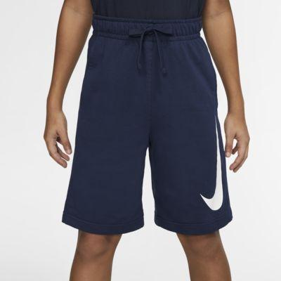Calções em tecido moletão Nike Sportswear para rapaz