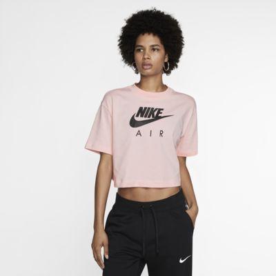 Kortärmad tröja Nike Air för kvinnor