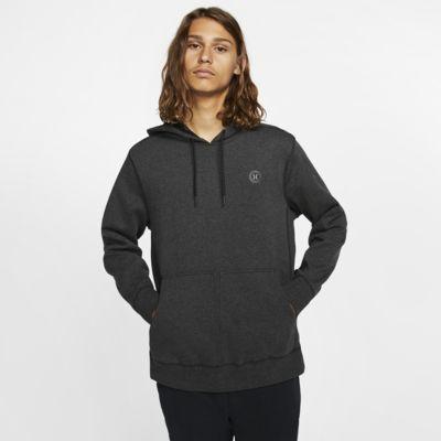 Felpa pullover in fleece con cappuccio Hurley Therma Protect - Uomo