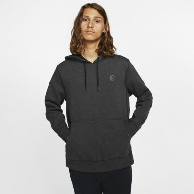 Hoodie pullover de lã cardada Hurley Therma Protect para homem