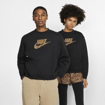 Sudadera de cuello redondo Nike Sportswear Animal Print