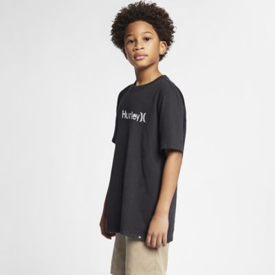 Hurley Premium One And Only Solid Jungen-T-Shirt