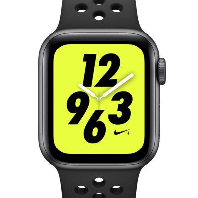 アップル ウォッチ ナイキ+ シリーズ 4 (GPS) とナイキ スポーツバンド 40mm スポーツウォッチ