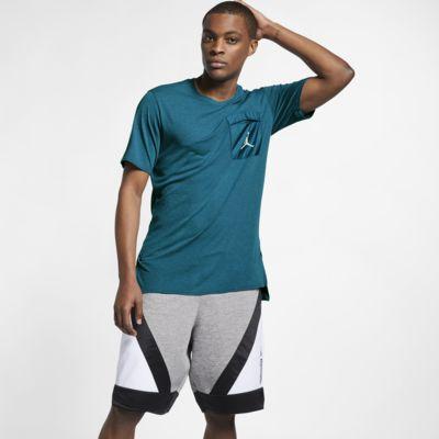 Jordan 23 Engineered Cool-træningsoverdel med korte ærmer til mænd