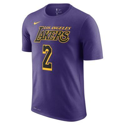 Lonzo Ball Los Angeles Lakers City Edition Nike Dri-FIT Men's NBA T-Shirt