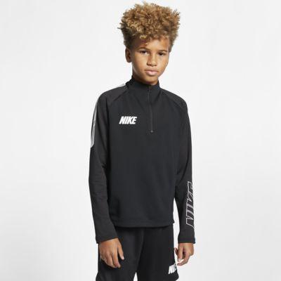 Fotbalový tréninkový top Nike Dri-FIT Squad pro větší děti