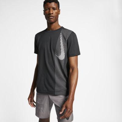 Nike Dri-FIT-kortærmet træningsoverdel til mænd