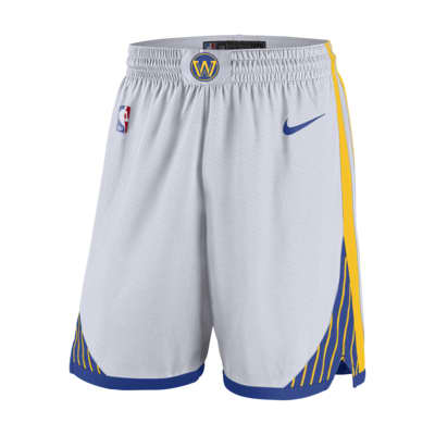 Golden State Warriors Association Edition Swingman Men's Nike NBA Shorts