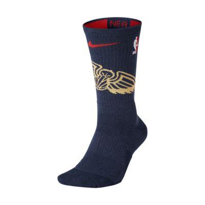 New Orleans Pelicans Nike Elite NBA Crew Socks