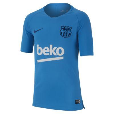 Top de fútbol para niños talla grande FC Barcelona Breathe Squad