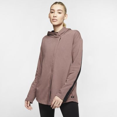 Haut à zip en tissu Fleece Hurley Dri-FIT Wash pour Femme